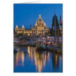 Canada, British Columbia, Victoria, Inner Greeting Cards