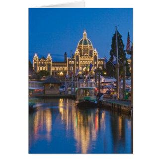 Canada, British Columbia, Victoria, Inner Card