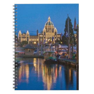 Canada, British Columbia, Victoria, Inner Notebook