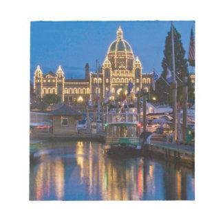 Canada, British Columbia, Victoria, Inner Notepad