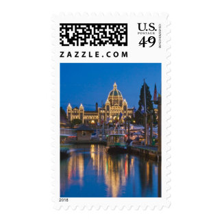 Canada, British Columbia, Victoria, Inner Postage Stamp