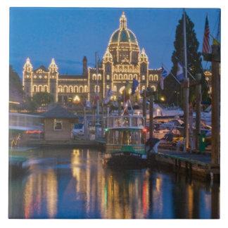 Canada, British Columbia, Victoria, Inner Tile