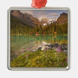 Canada, British Columbia, Yoho National Park. 2 Metal Ornament