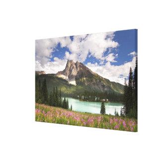 Canada, British Columbia, Yoho National Park. 3 Canvas Print