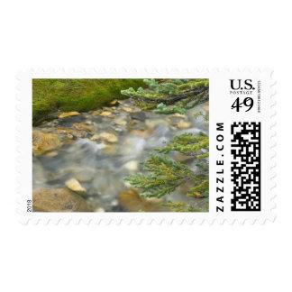 Canada, British Columbia, Yoho National Park. 4 Stamps
