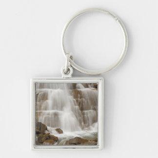 Canada, British Columbia, Yoho National Park. Silver-Colored Square Keychain