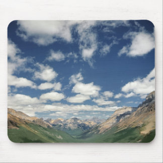 Canada, British Columbia, Yoho NP. Puffy clouds Mouse Pad