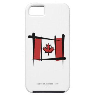 Canada Brush Flag iPhone SE/5/5s Case