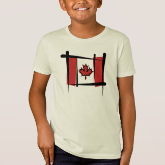 Canada Brush Flag T-Shirt