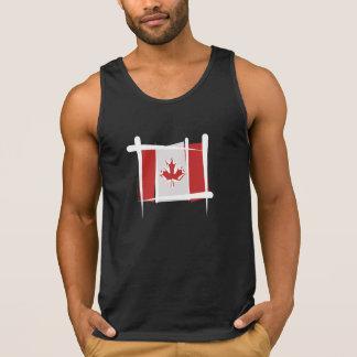 Canada Brush Flag Tank Top