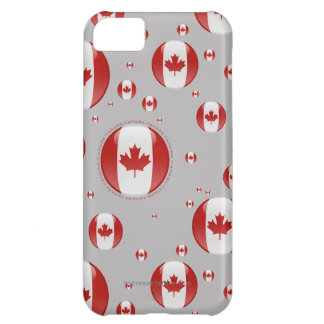 Canada Bubble Flag iPhone 5C Cover