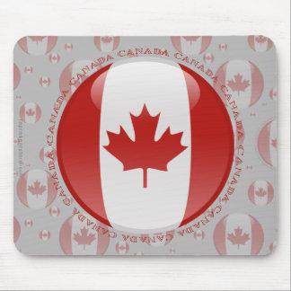 Canada Bubble Flag Mouse Pad