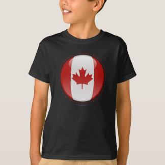 Canada Bubble Flag T-Shirt