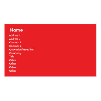 Canada - Business Double-Sided Standard Business Cards (Pack Of 100)