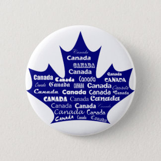 Canada Button Blue