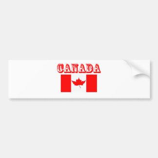 Canadá Pegatina De Parachoque