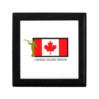 CANADA CALGARY MISSION LDS CTR KEEPSAKE BOX