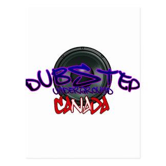 Canada Canadian DUBSTEP DnB reggae Electro Rave Postcard