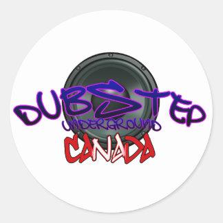 Canada Canadian DUBSTEP DnB reggae Electro Rave Stickers