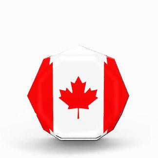 Canada - Canadian Flag Acrylic Award