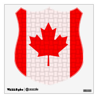 canadian flag wall decals amp wall stickers zazzle canada wall decals canada wall stickers amp wall peels