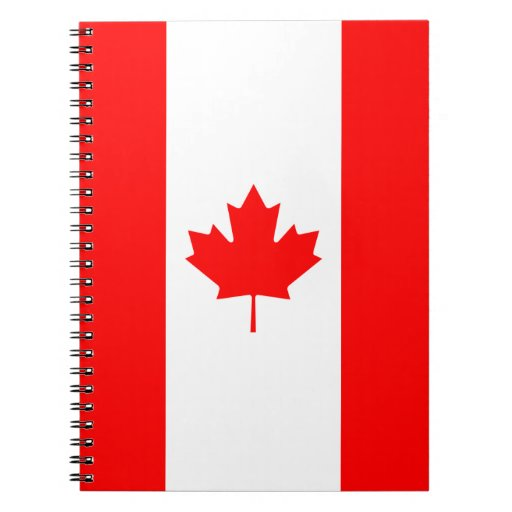 Canada - Canadian Flag Notebook