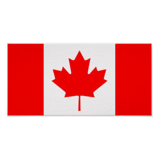 Canada - Canadian Flag Poster