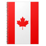 Canada - Canadian Flag Spiral Notebooks