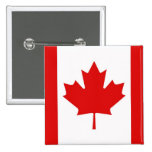 Canada Canadian Maple leaf flag Button