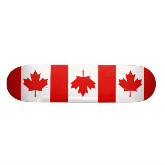 Canada Canadian Maple leaf flag Skateboard Deck