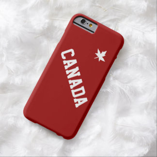 Canada Canadian North American Country Patriotic Barely There iPhone 6 Case