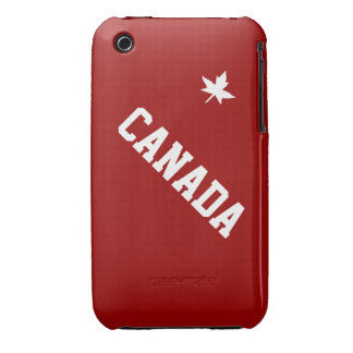 Canada Canadian North American Country Patriotic Case-Mate iPhone 3 Cases