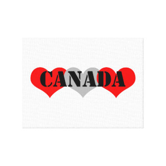 Canada Stretched Canvas Print