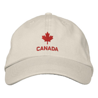 Canada Cap - Red Maple Leaf Hat