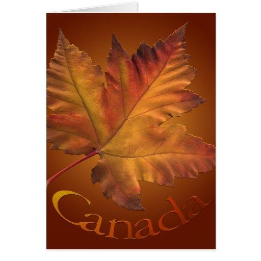 Canada Cards Canada Maple Leaf Greeting Cards Zazzle