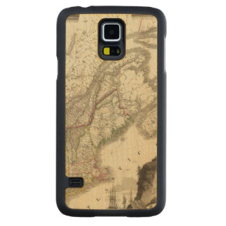 Canada Carved® Maple Galaxy S5 Slim Case