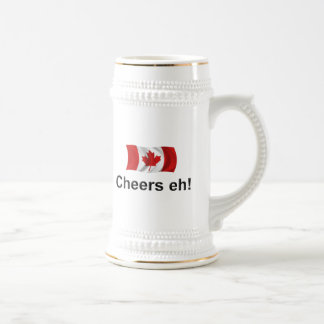 Canada Cheers, eh! Beer Stein