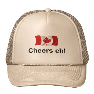 Canada Cheers, eh! Mesh Hat