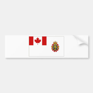 Canada Chief of the Defence Staff Flag Car Bumper Sticker