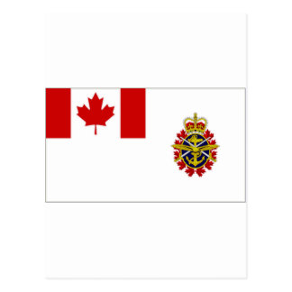 Canada Chief of the Defence Staff Flag Postcard