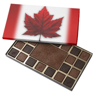 Canada Chocolates Canada Flag Souvenir Chocolates