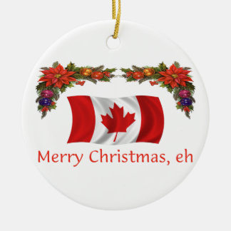 Canada Christmas Christmas Ornaments