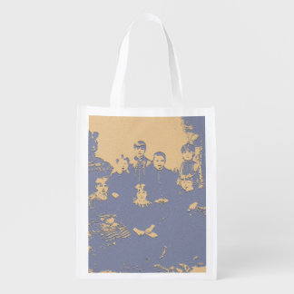 Canada circa 1880 grocery bags