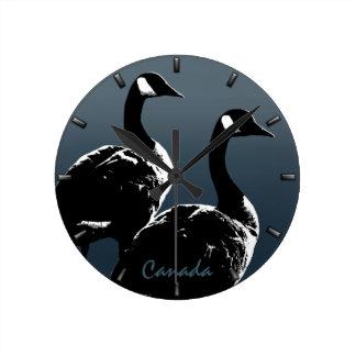Canada Clock Canadian Goose Souvenir Wall Clock