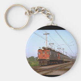 Canada, CNR boxcab electric_Trains of the World Keychain