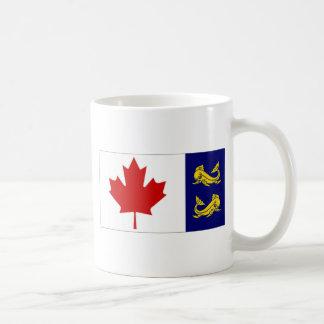 Canada Coast Guard Flag Classic White Coffee Mug
