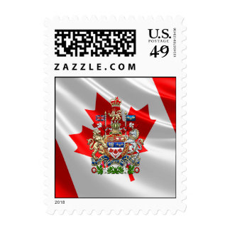 Canada Coat of Arms [3D] Stamps
