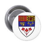 Canada coat of arms button