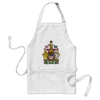 Canada Coat of arms CA Adult Apron