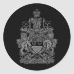 Canada Coat of Arms - Canada Crest Stickers